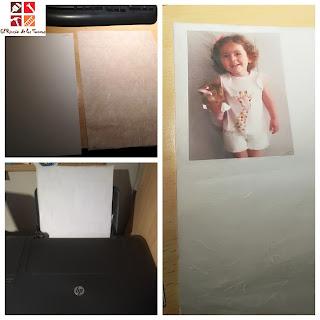 como hacer decoupage con impresión casera