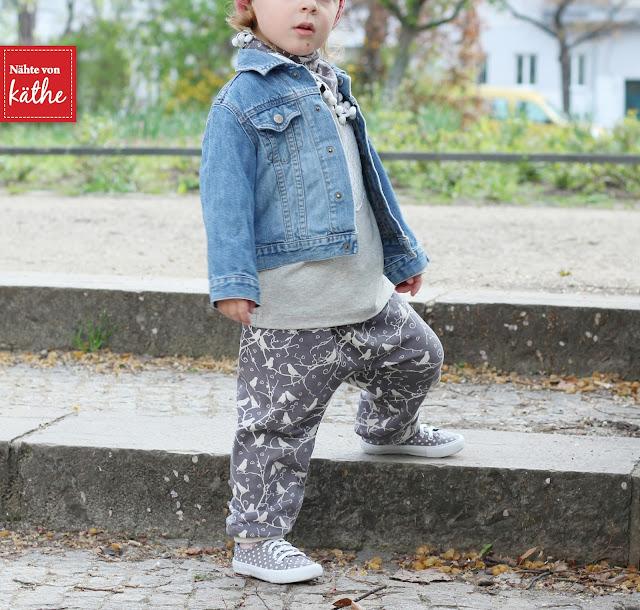 Hose Babyherz von Rosarosa, Raglankids von Leni Pepunkt