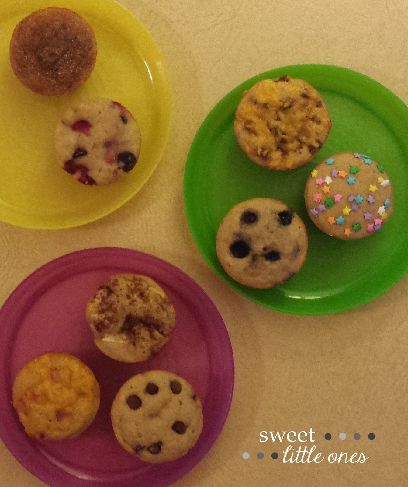 Pancake Muffin Recipe with Mix-ins - www.sweetlittleonesblog.com