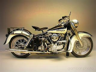 Harley Davidson FL Duo Glide motorcycle