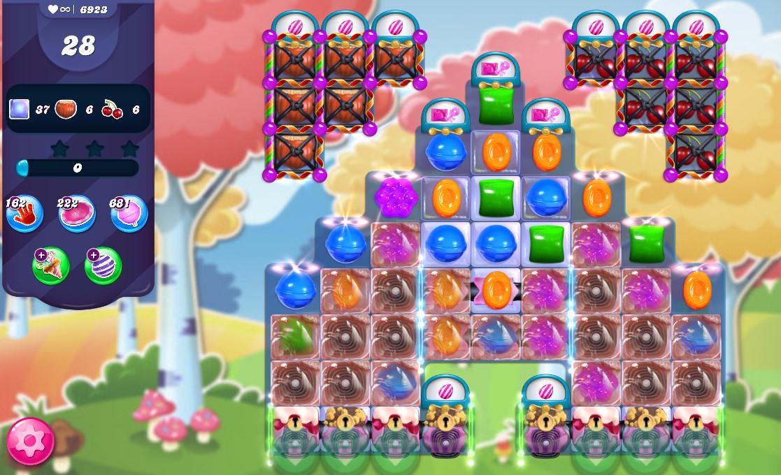 Candy Crush Saga level 6923
