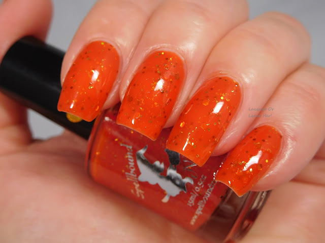 Spellbound Nails Pumpkin Spice Latte