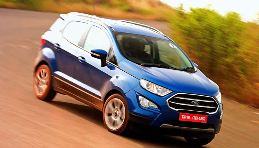 New Ford Ecosport Launch Date in India