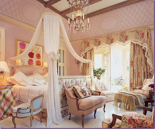 Dormitorios rom nticos para ni as y adolescentes ideas for Cuarto de nina rosa palido