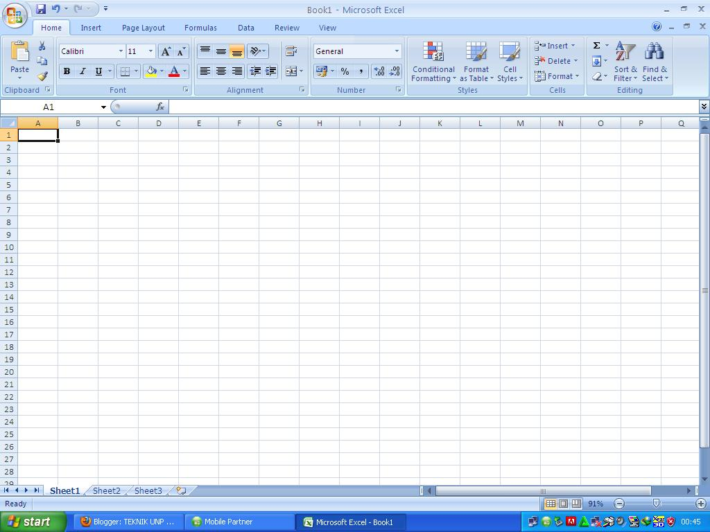 Fungsi Tab Review Microsoft Excel