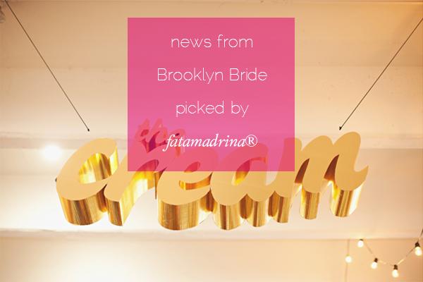 The Cream NYC recap Brooklyn Bride