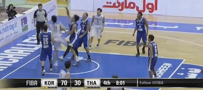 HIGHLIGHTS: Korea vs. Thailand (VIDEO) 2016 FIBA Asia Challenge | September 10