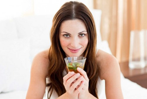 Lemonade au thé vert pour perdre kilos et réduire les mesures