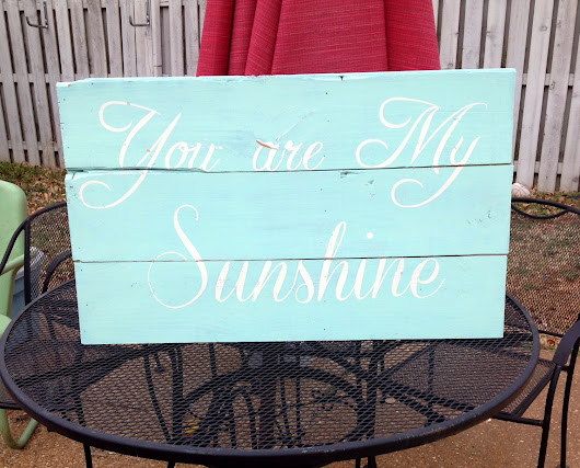 Sunshiine Sign