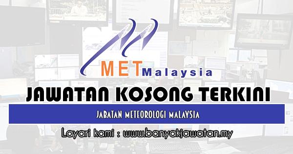 Jawatan Kosong 2019 di Jabatan Meteorologi Malaysia