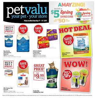 Pet Valu Flyer May 4 to 14, 2017
