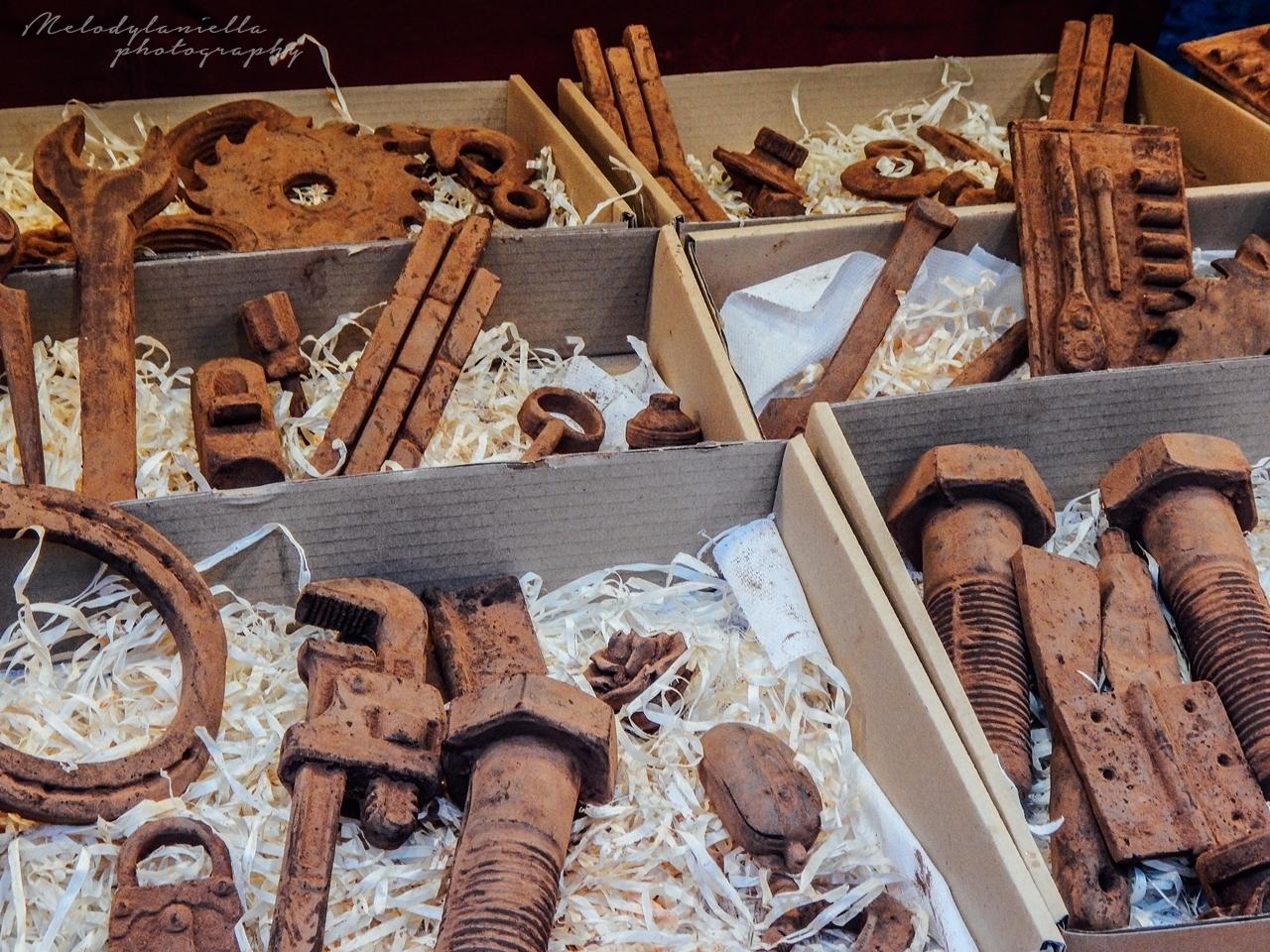 pomysły na świąteczny prezent narzędzia z czekolady