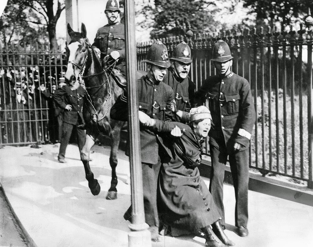 Suffragettes Vs. Police: Historical Photos Of Women's