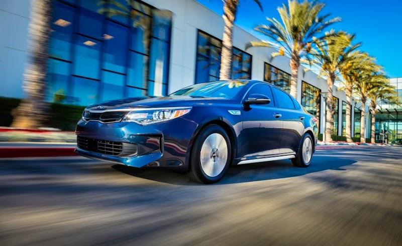 2018 Kia Optima Hybrid Redesigned