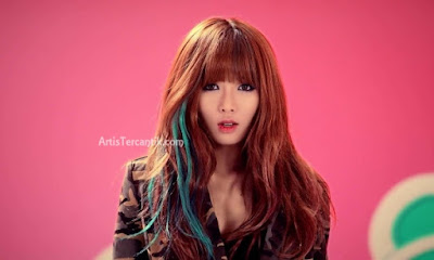 Model Korea Selatan Terseksi Kim Hyuna