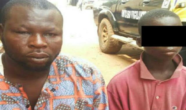 """""""I Make Up To N8000 In A Day"""" — Fake Blind Beggar Apprehended In Lagos Confesses"""