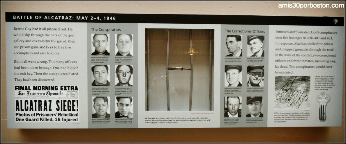 La Prisión de Alcatraz: La Batalla de Alcatraz