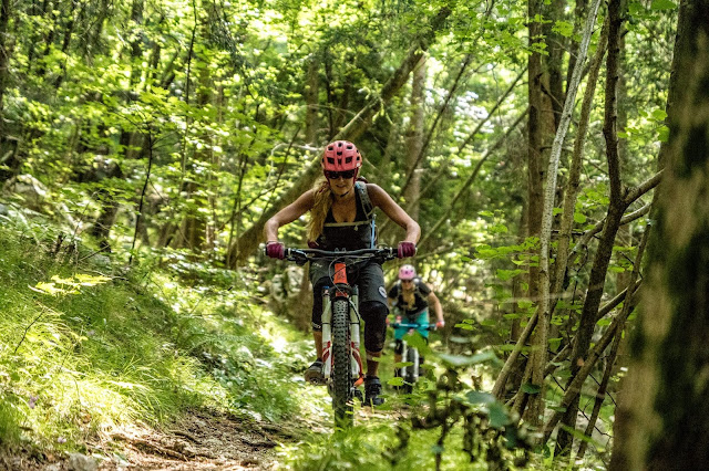 MTB Udine/ Friaul Monte Cuarnan - Mountainbike Tour mit super Trail