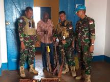Satgas TNI Kizi  Konga XXXVII-E MINUSCA CAR Laksanakan  Proses DDR di Republik Afrika Tengah