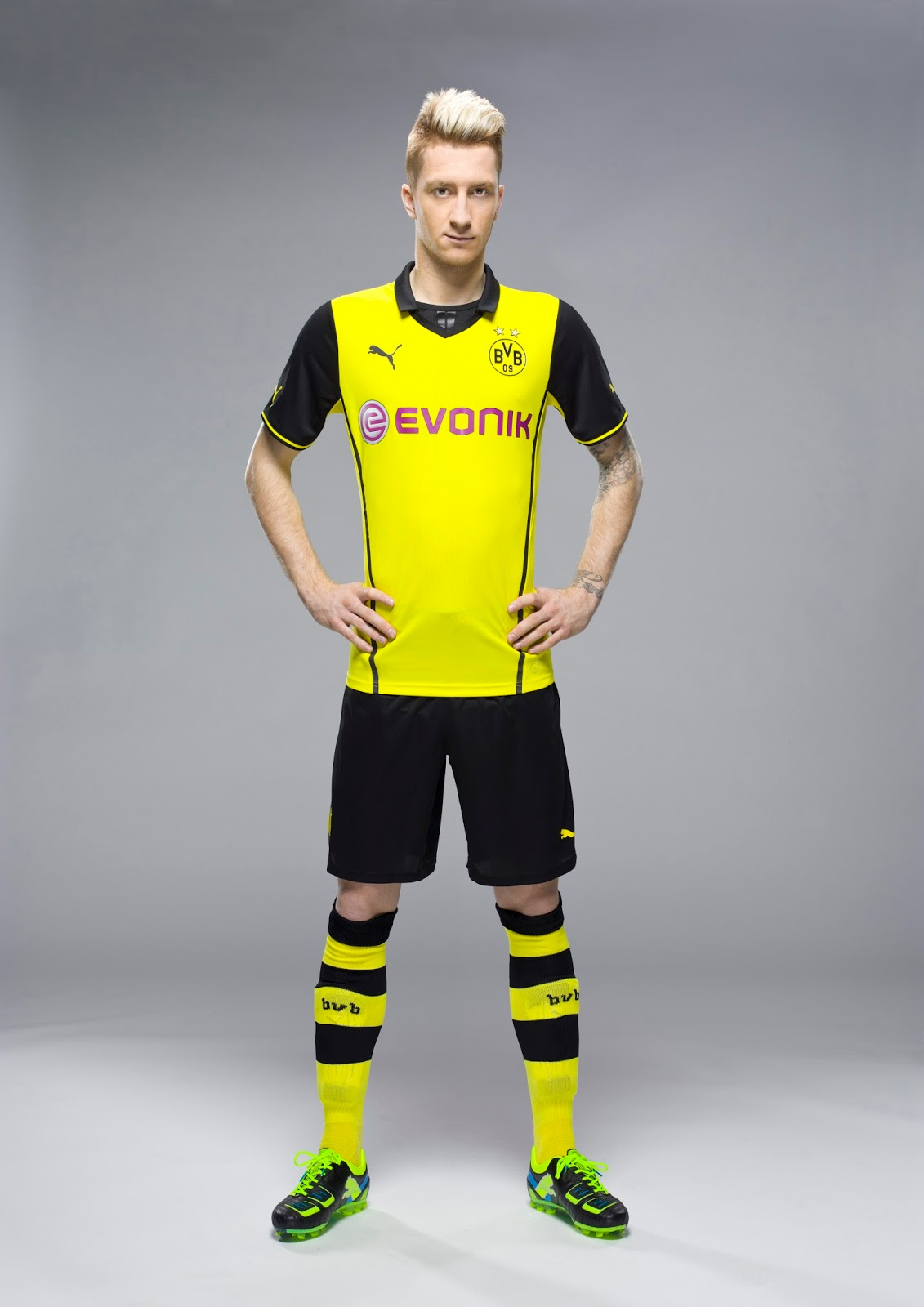 Borussia Dortmund 13-14 (2013-14) Champions League Kit ...