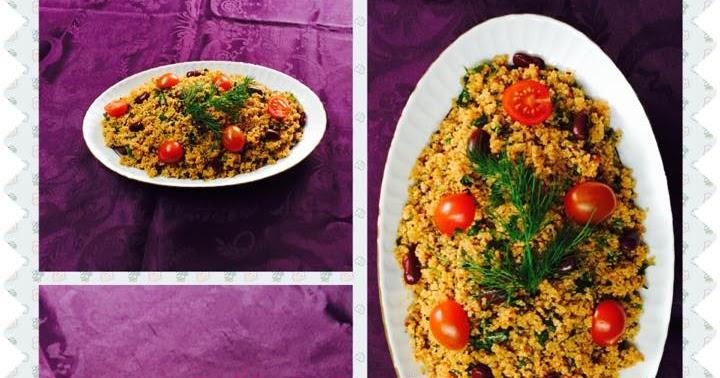 thermomix la feride nin lezzet d nyasi quinoa salat k s r kinoa k s r. Black Bedroom Furniture Sets. Home Design Ideas