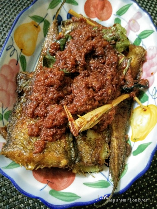 Ikan sebelah @ ikan sisa nabi masak sambal pun sedap