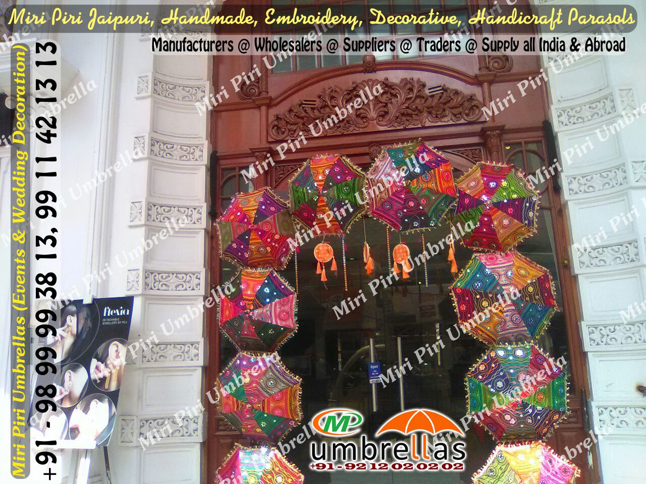 Wedding umbrellas parasols manufacturers suppliers wholesalers decorated umbrellas for weddings small umbrella for decoration umbrellas decoration delhi india junglespirit Images