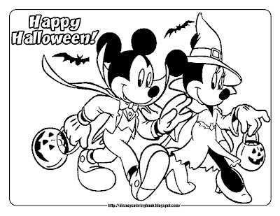 kaboose coloring pages halloween mickey | Free Printable Vampire Coloring Pages – Colorings.net