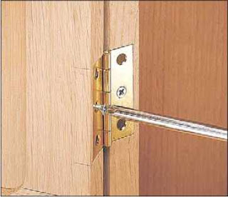 World Of Wood Two Tips For Installing Hinges