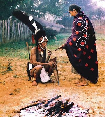 Myanmar Naga People