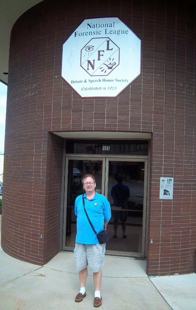 Rick Sincere Ripon Wisconsin National Forensics League NFL