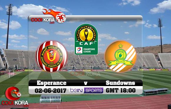 مشاهدة مباراة صن داونز والترجي اليوم 2-6-2017 دوري أبطال أفريقيا