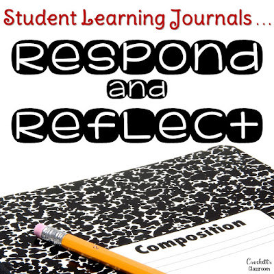 Your student have learning journals, now what do they write about?  Get ideas for using your journals for reading responses.