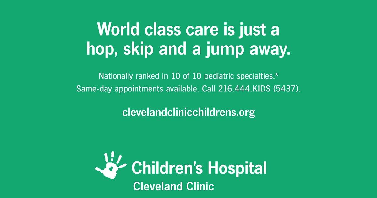 Maggie's Creative Portfolio: Cleveland Clinic Children's