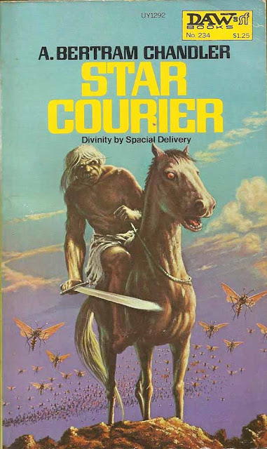 A. Bertram Chandler. Star Courier (New York: DAW Books, 1977)