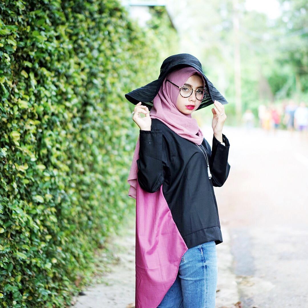 Model Hijab Beautiful Hijab Tutorial Hijab Modern Paris Simple