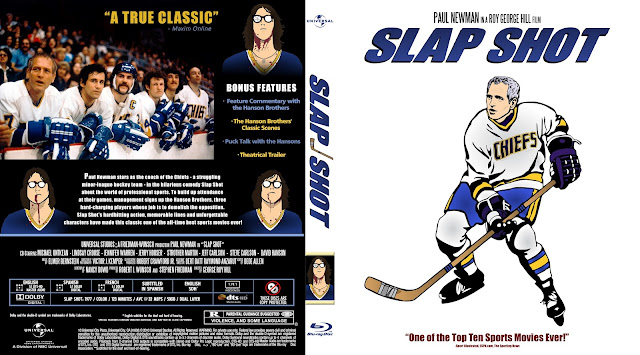 Slap Shot Bluray Cover