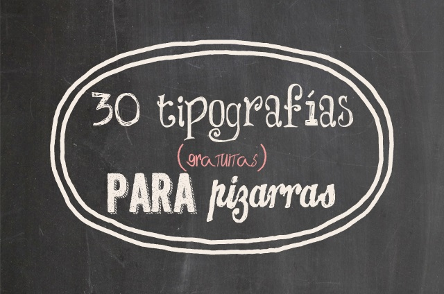 30 Tipografías De Pizarra Para Descargar Gratis