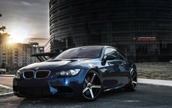 Wallpaper: BMW E92 M3 Car