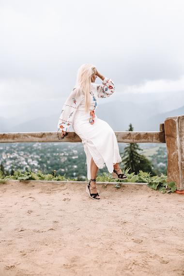 Dziewczyna w górach!