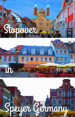 A Stopover in Speyer Germany On The Way from Heidelberg to Frankfurt