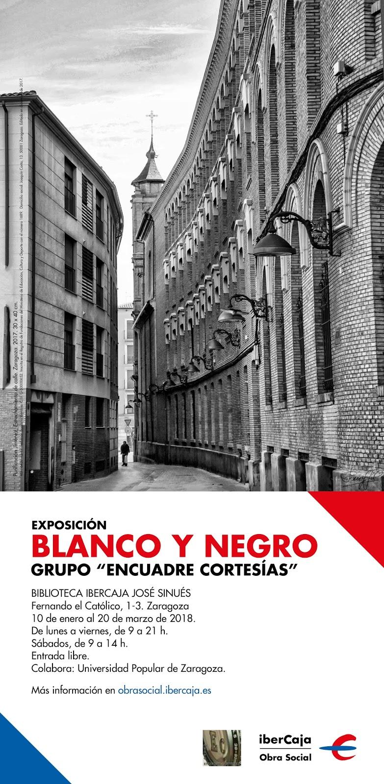 Universidad Popular de Zaragoza: Exposición Blanco y Negro. Grupo ...