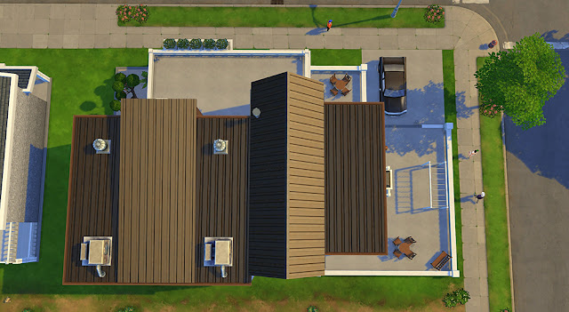 Sims 4 Roofing