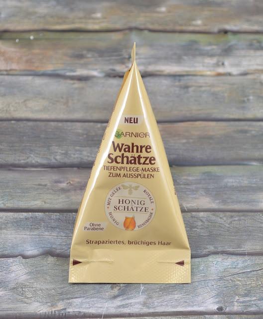 Garnier wahre Schätze Tiefenpflege Maske zum Ausspülen Honig Schätze