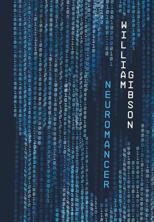Book cover for William Gibson's Neuromancer in the South Manchester, Chorlton, and Didsbury book group