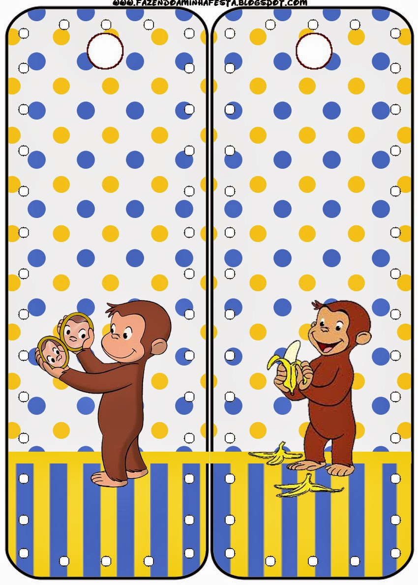 Curious George: Free Party Printables. | Oh My Fiesta! in ...