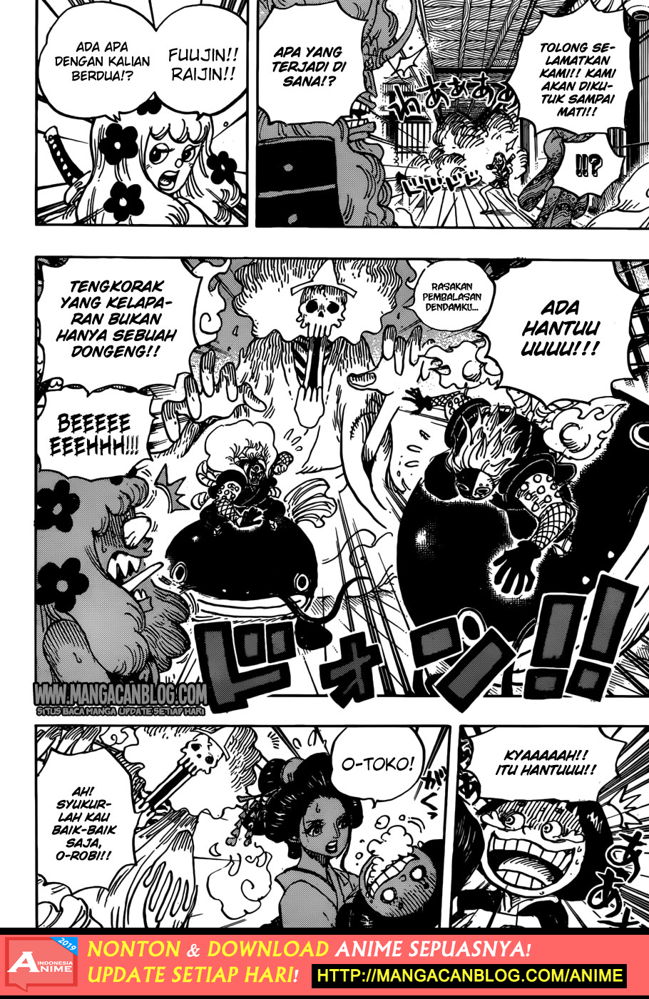 Komik One Piece 933 Bahasa Indonesia Ampunan Samurai