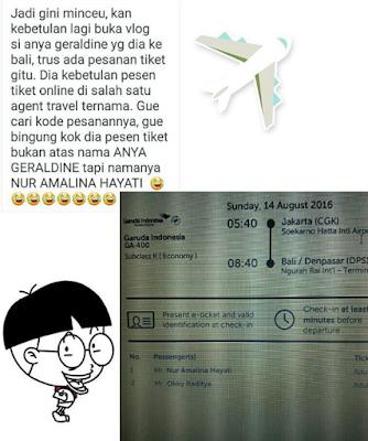 Lambe Turah Bocor, Nama Asli Selebgram Anya Geraldine Bikin Netizen 'Lelah'