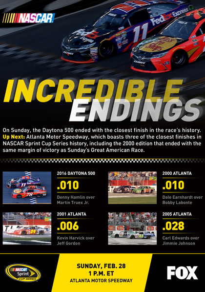 Incredible #NASCAR Endings