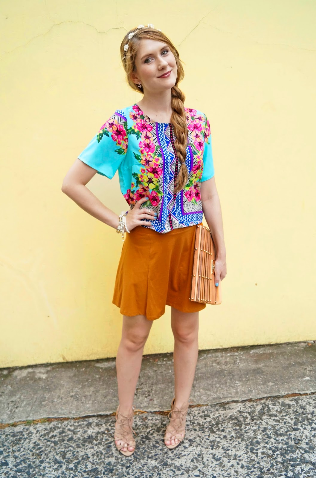 Colorful Summer Outfit Inspiration